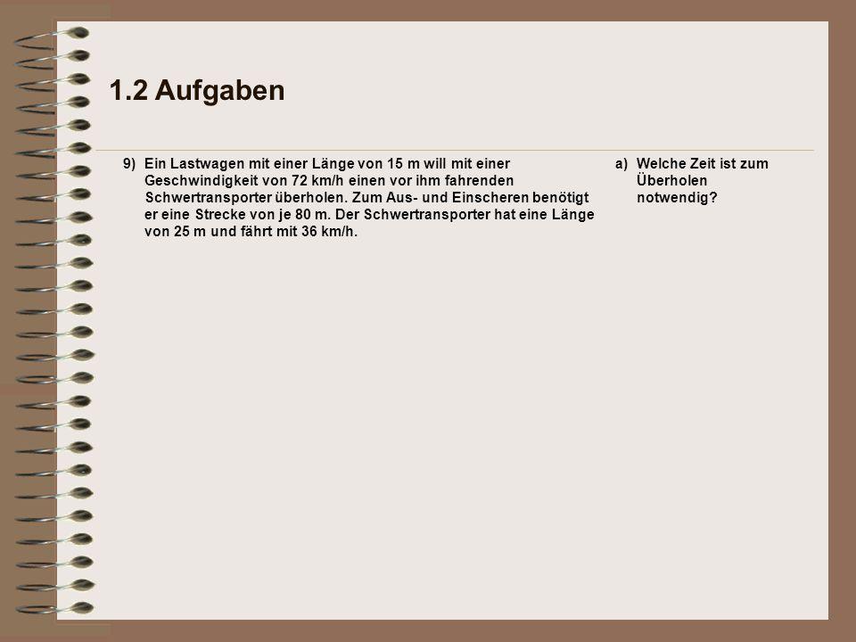 1.2 Aufgaben 9)