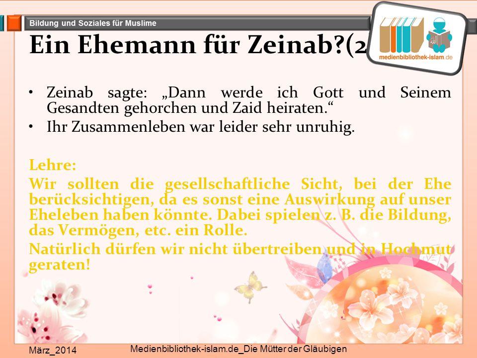Ein Ehemann für Zeinab (2)