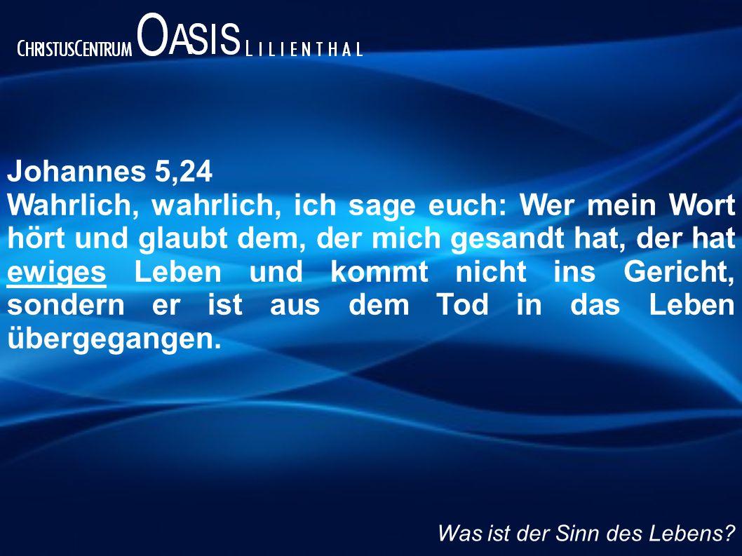 Johannes 5,24