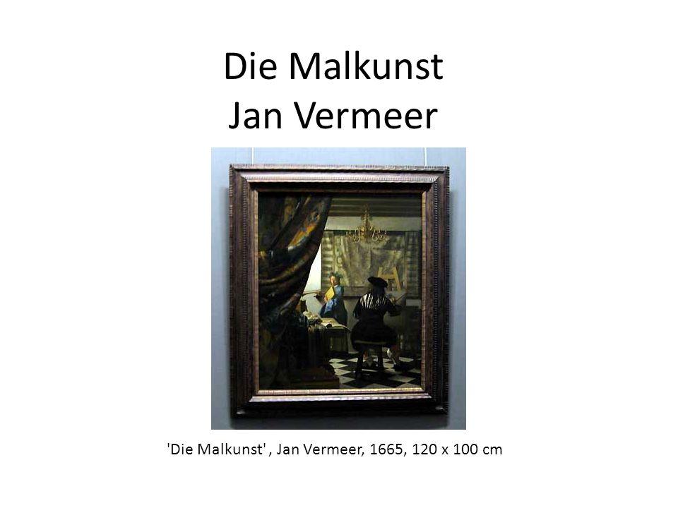 Die Malkunst Jan Vermeer