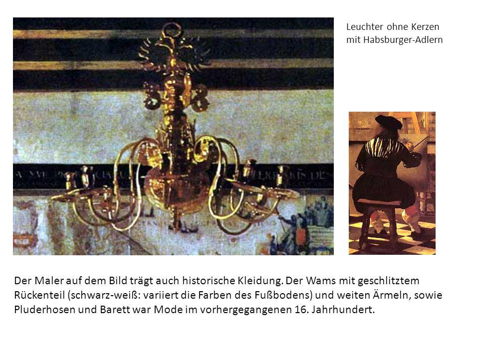 Leuchter ohne Kerzen mit Habsburger-Adlern