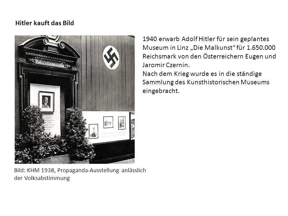 Hitler kauft das Bild