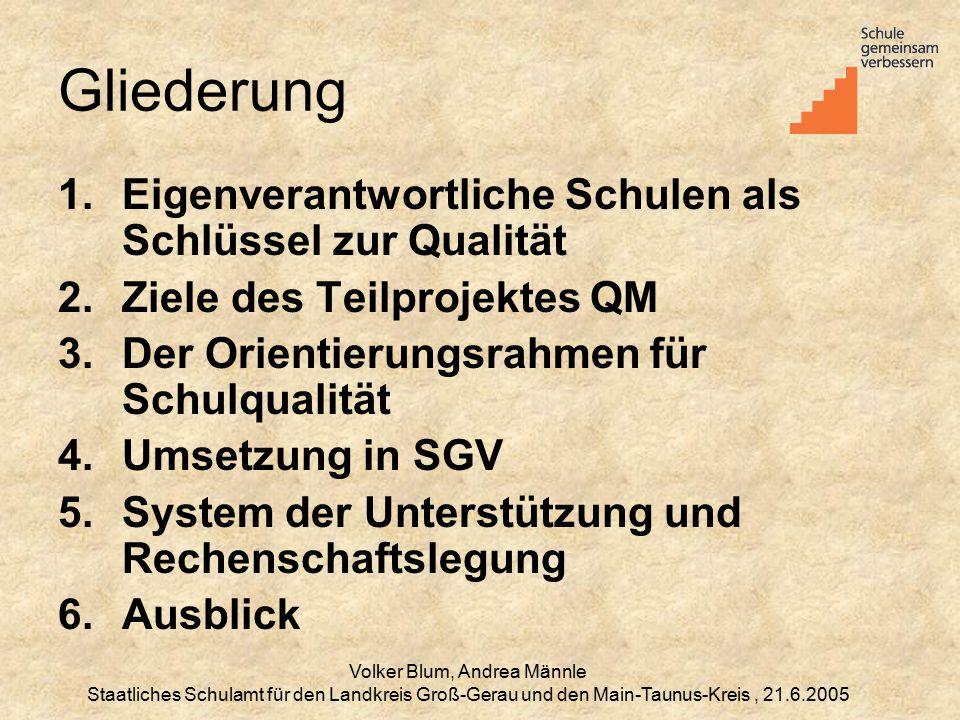 Volker Blum, Andrea Männle
