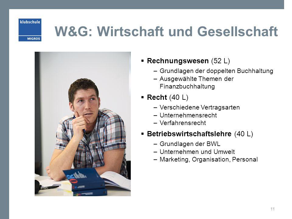 W&G: Wirtschaft und Gesellschaft