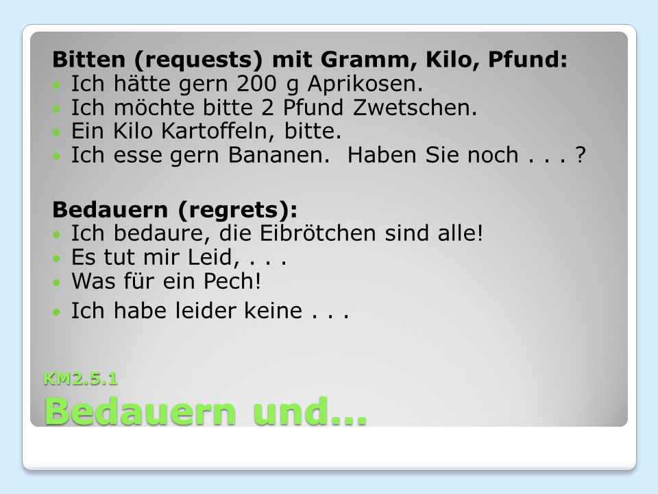 Bitten (requests) mit Gramm, Kilo, Pfund: