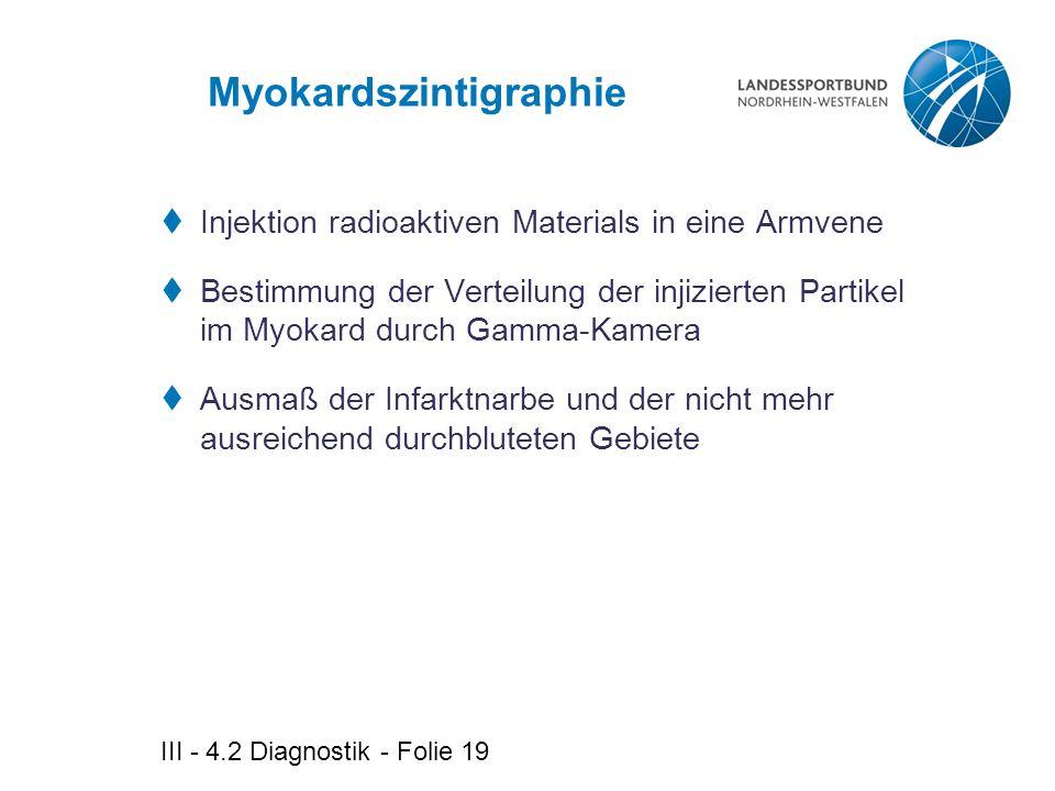 Myokardszintigraphie