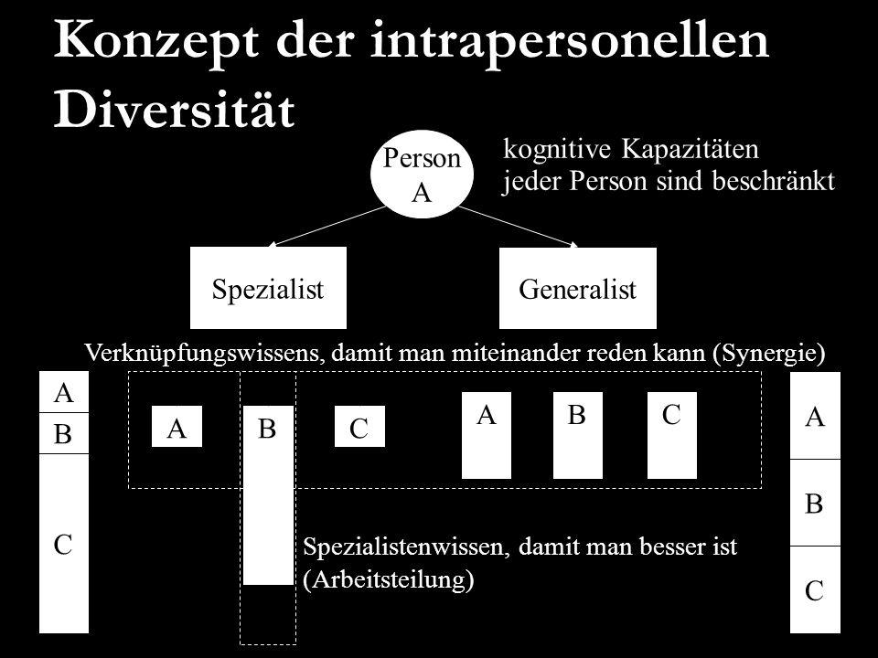 Konzept der intrapersonellen Diversität