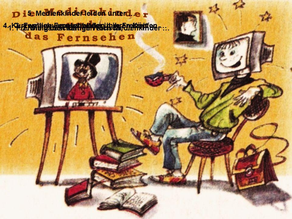 Die Medienkinder und das Fernsehen