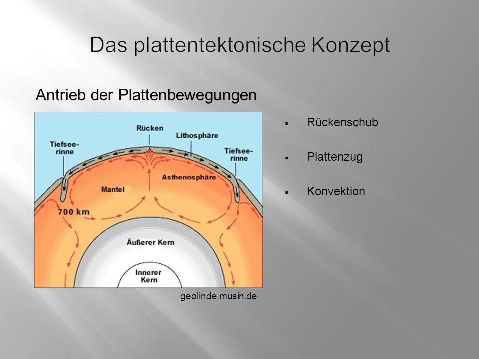 Das plattentektonische Konzept