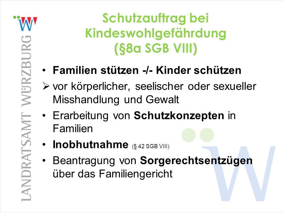 Schutzauftrag bei Kindeswohlgefährdung (§8a SGB VIII)