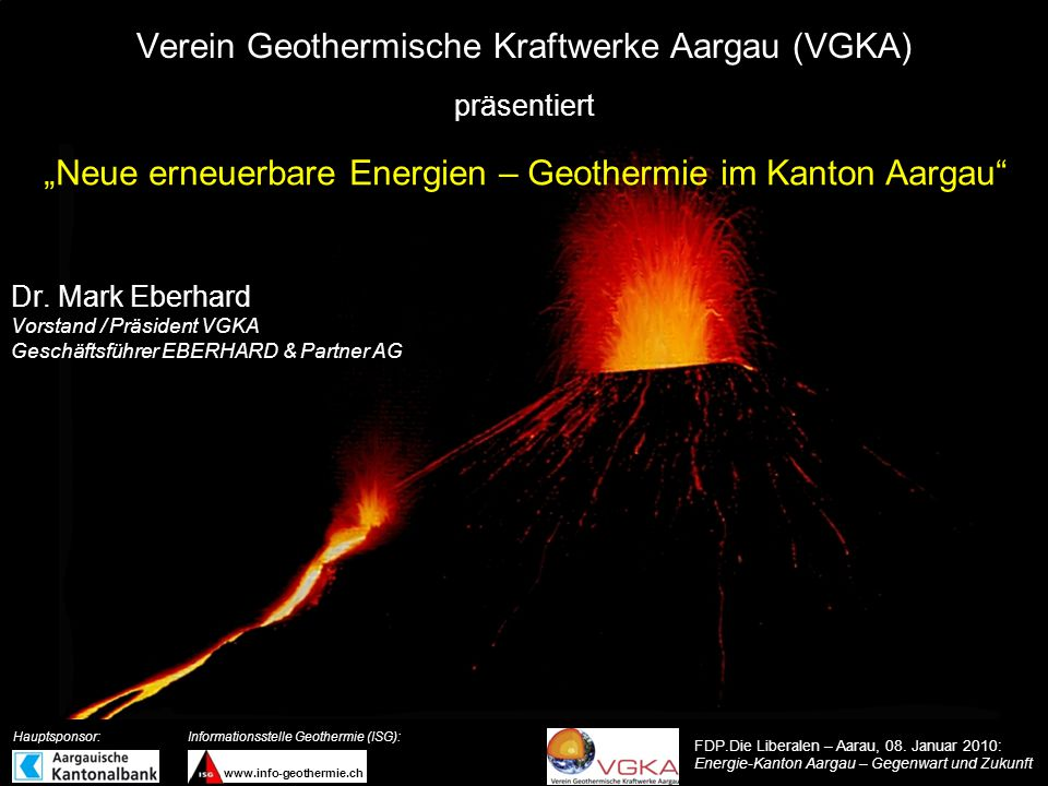 Verein Geothermische Kraftwerke Aargau (VGKA)
