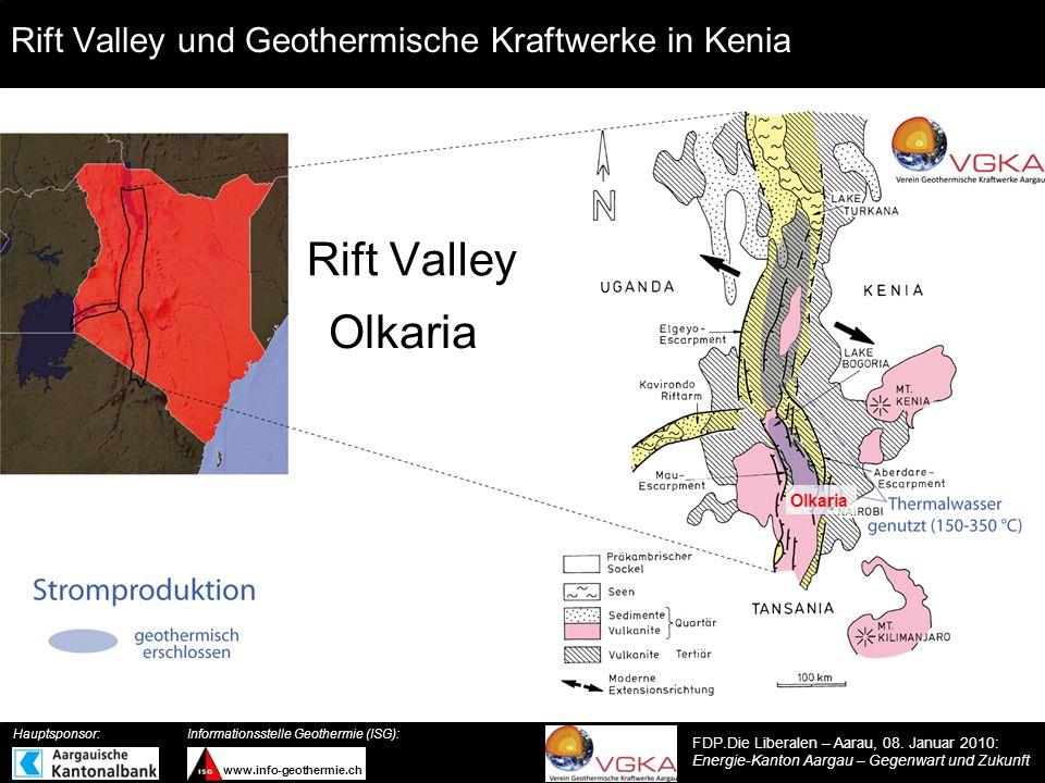 Rift Valley und Geothermische Kraftwerke in Kenia