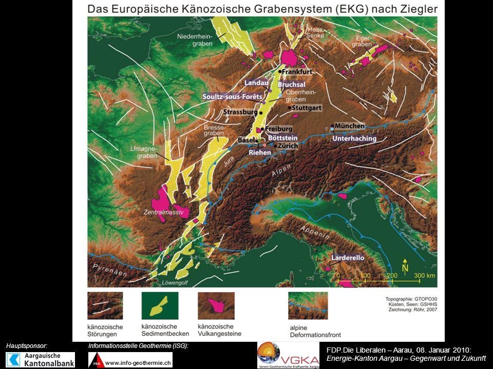 Topographie Böttstein Brugg Aarau