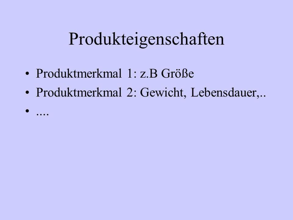 Produkteigenschaften