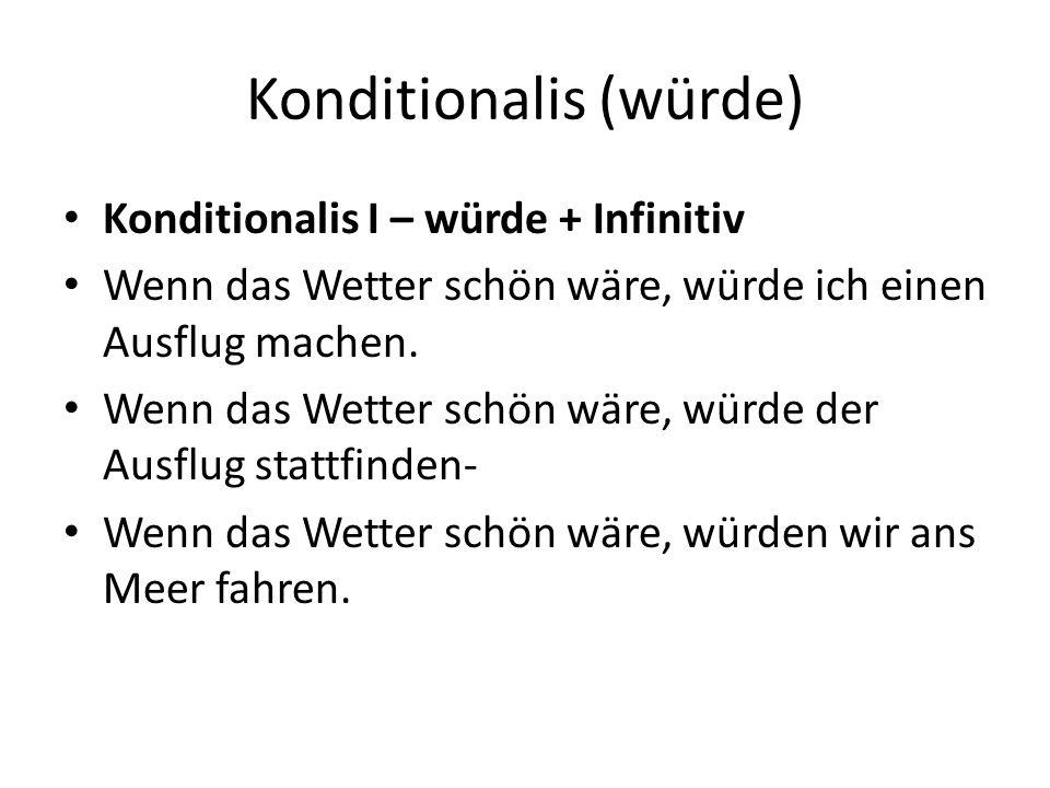 Konditionalis (würde)