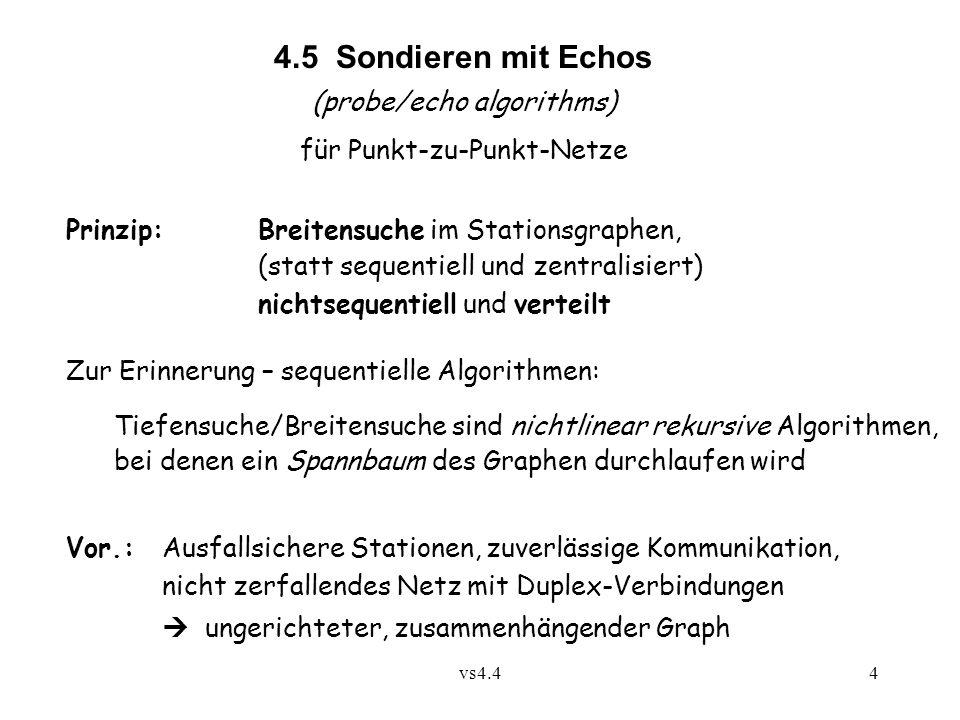 4.5 Sondieren mit Echos (probe/echo algorithms)