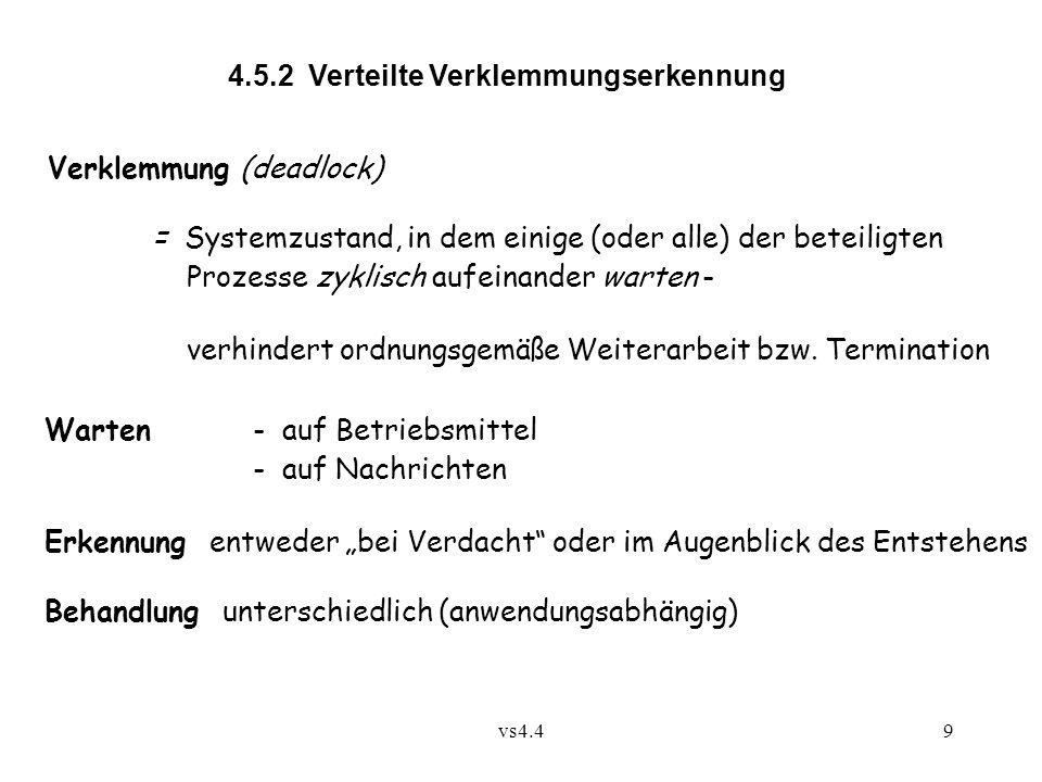 4.5.2 Verteilte Verklemmungserkennung