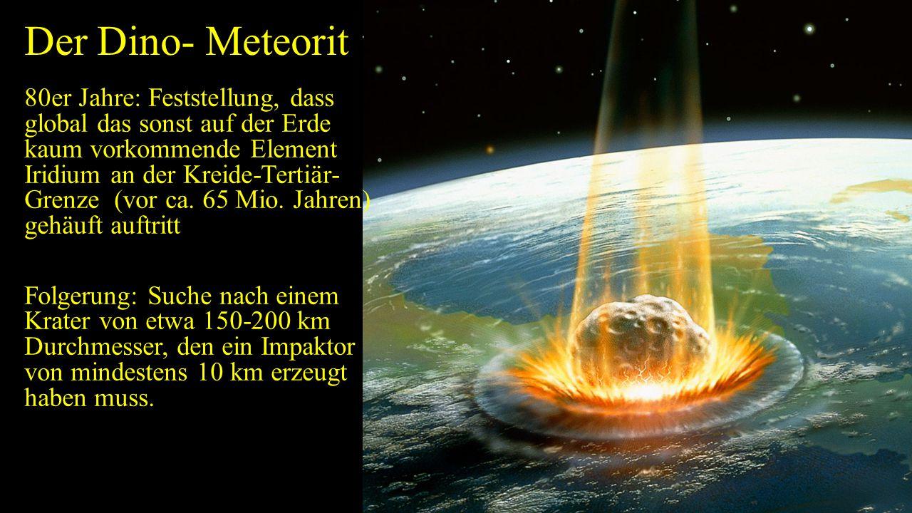 Der Dino- Meteorit