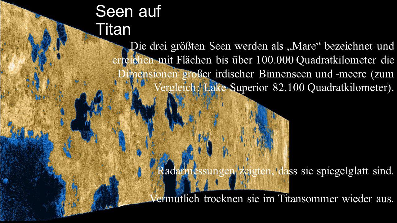 Seen auf Titan