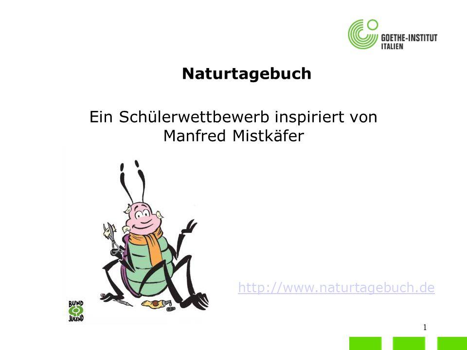 Ein Schülerwettbewerb inspiriert von Manfred Mistkäfer