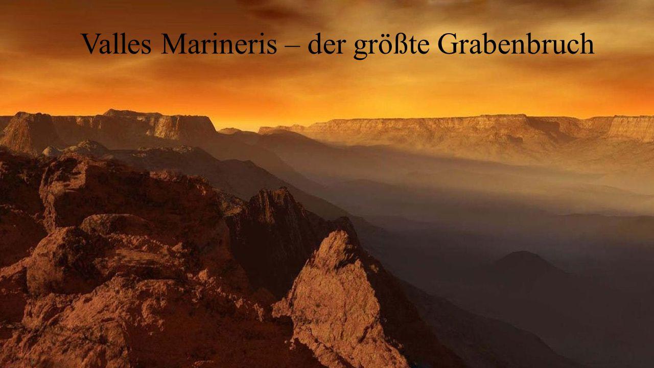 Valles Marineris – der größte Grabenbruch