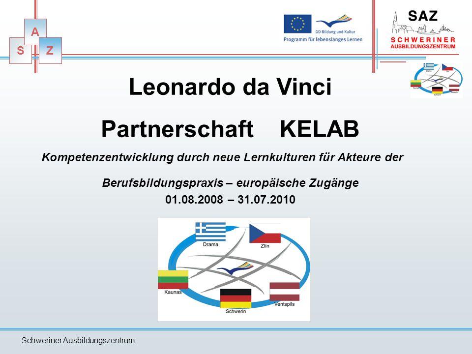 Leonardo da Vinci Partnerschaft KELAB