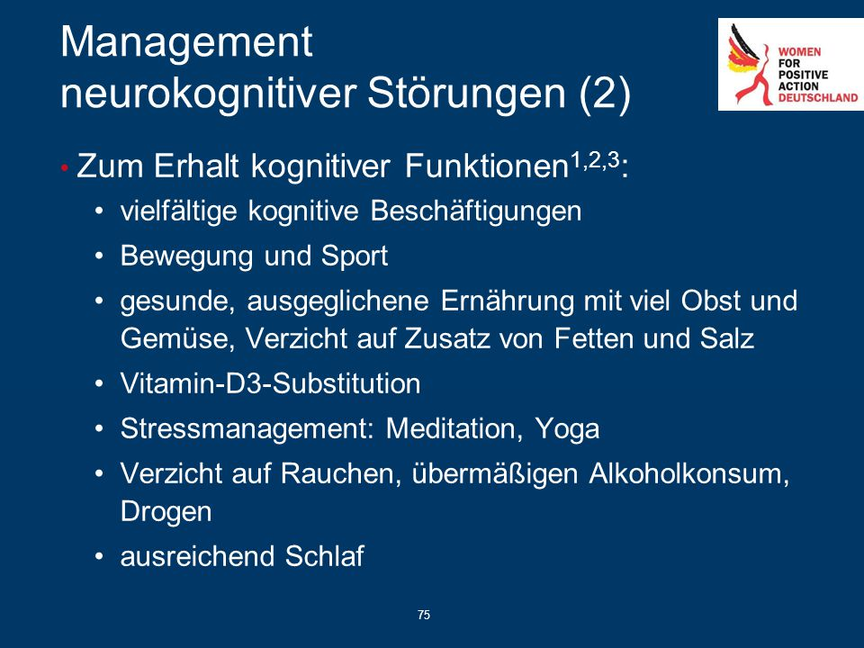 Management neurokognitiver Störungen (2)