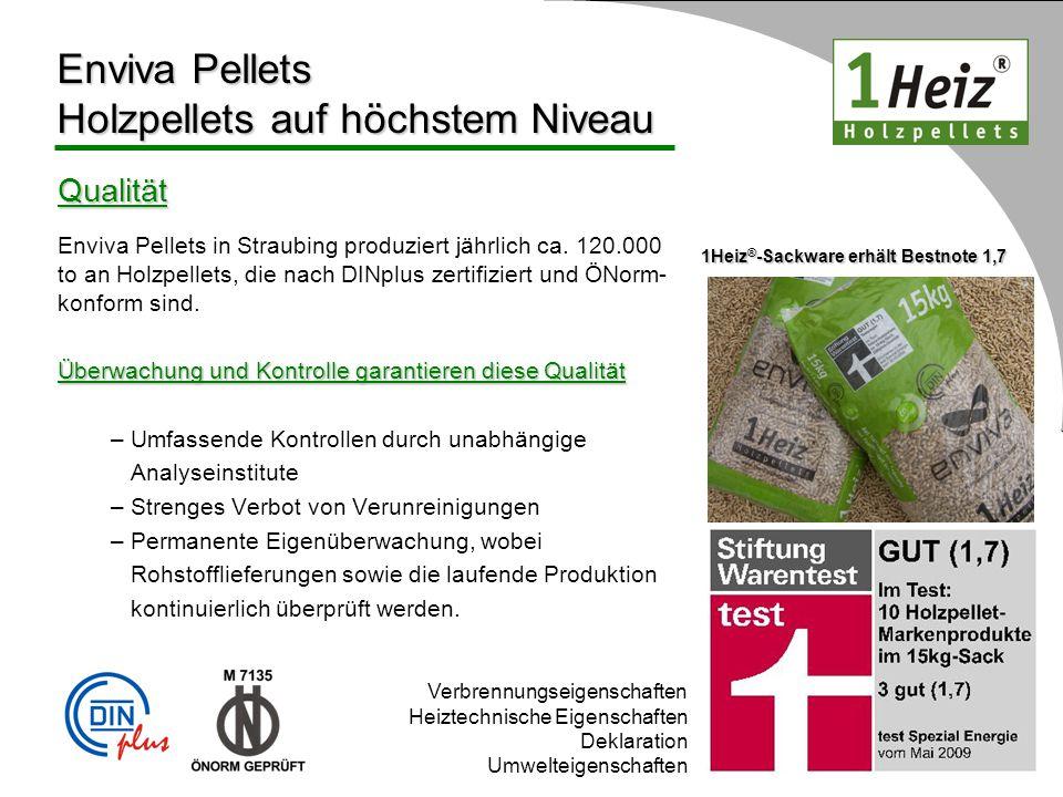 Enviva Pellets Holzpellets auf höchstem Niveau