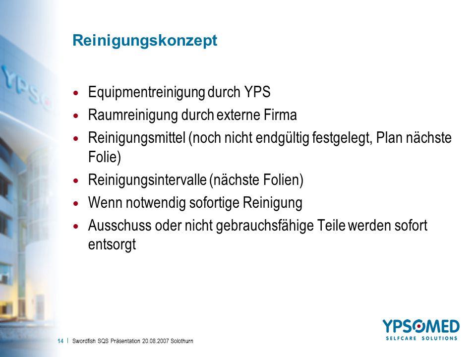 Equipmentreinigung durch YPS Raumreinigung durch externe Firma
