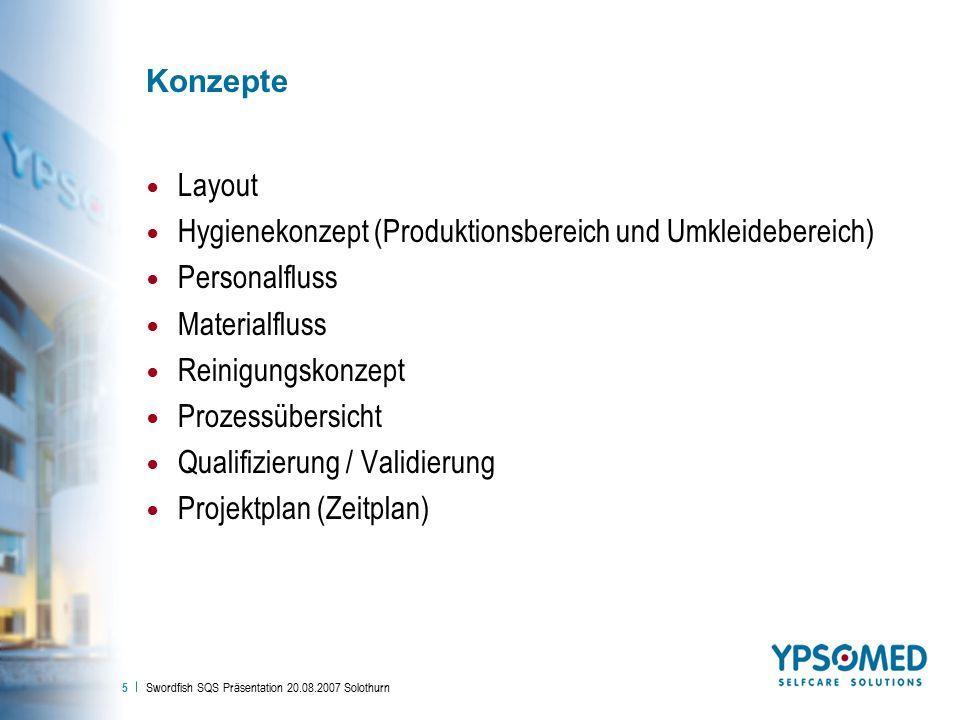 Hygienekonzept (Produktionsbereich und Umkleidebereich) Personalfluss