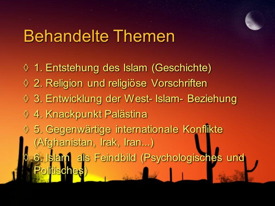 entstehung des islams