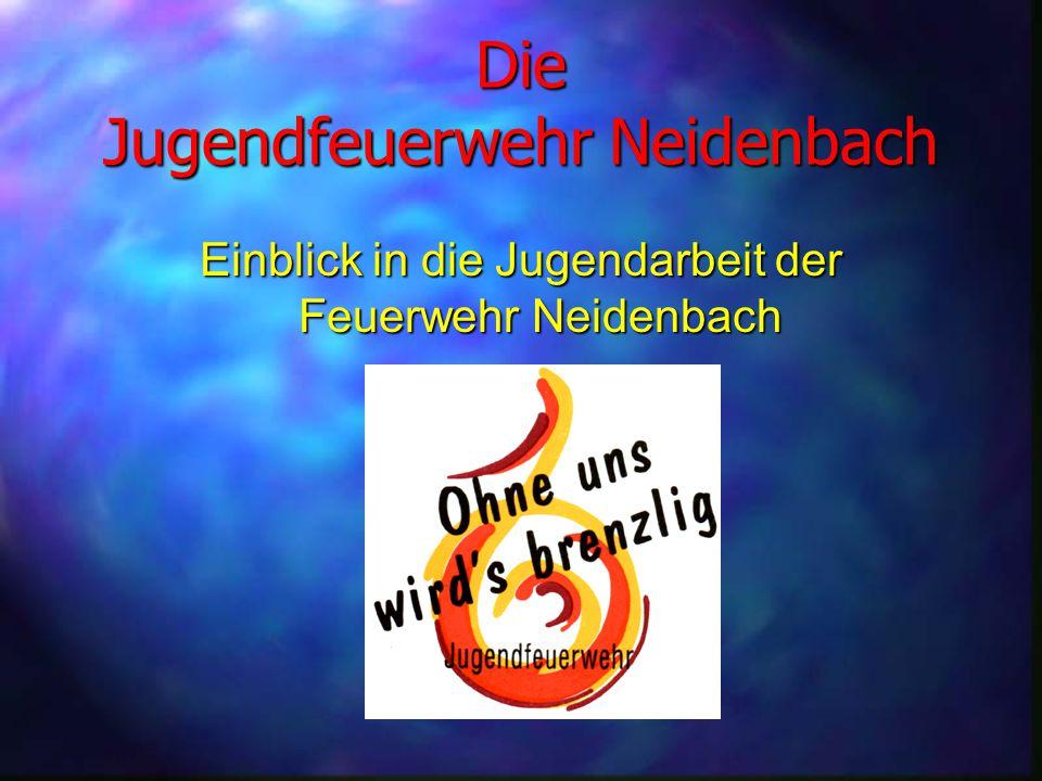 Die Jugendfeuerwehr Neidenbach