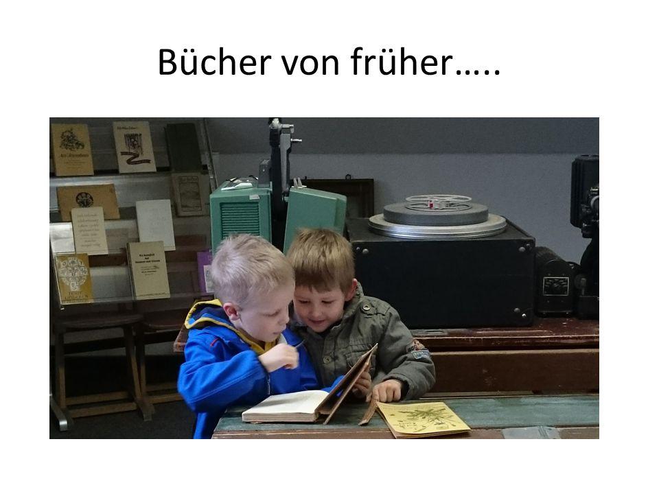 Bücher von früher…..