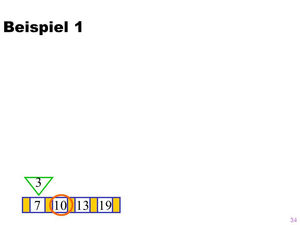 Beispiel 1 3 7 10 13 19