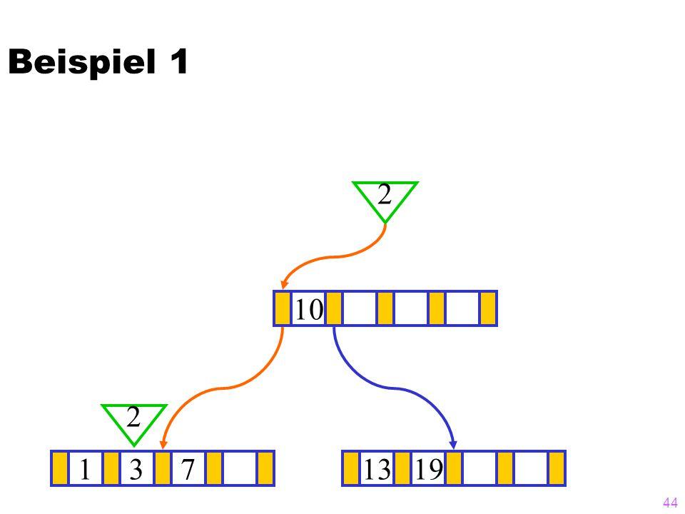 Beispiel 1 2 10 2 1 3 7 13 19
