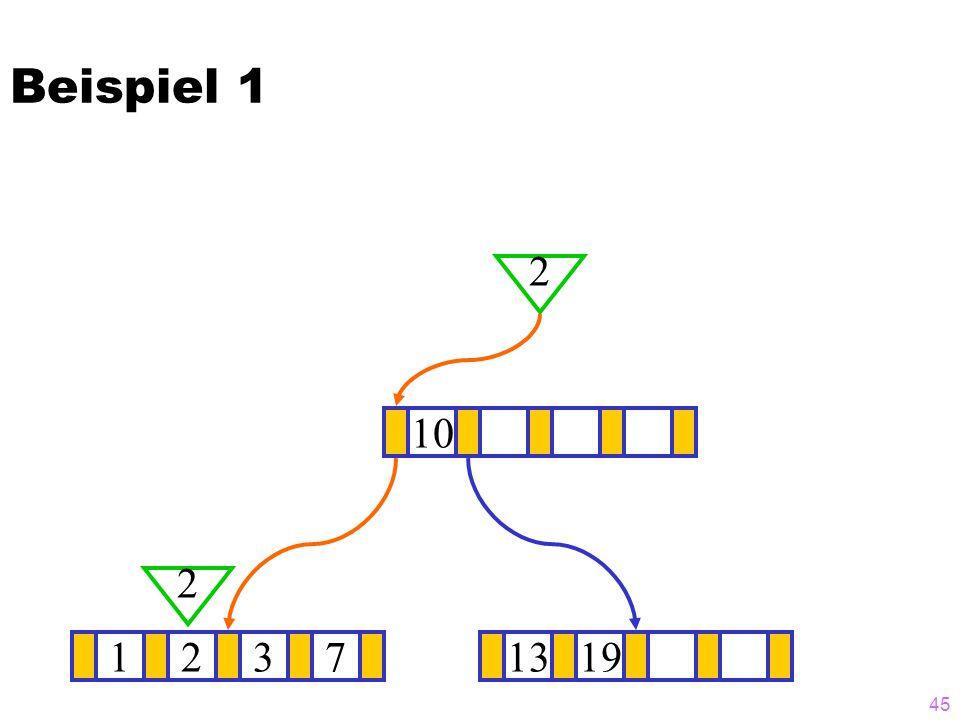 Beispiel 1 2 10 2 1 2 3 7 13 19
