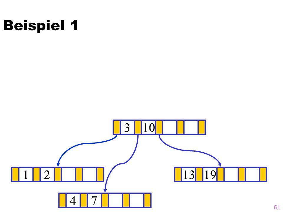 Beispiel 1 3 10 1 2 13 19 4 7