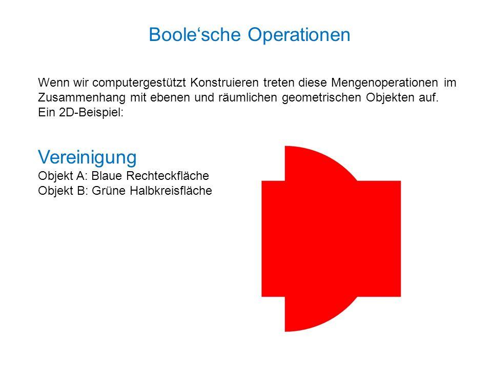 Boole'sche Operationen