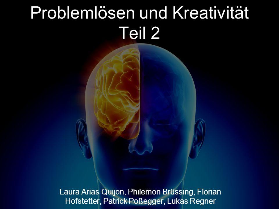 Problemlösen und Kreativität Teil 2
