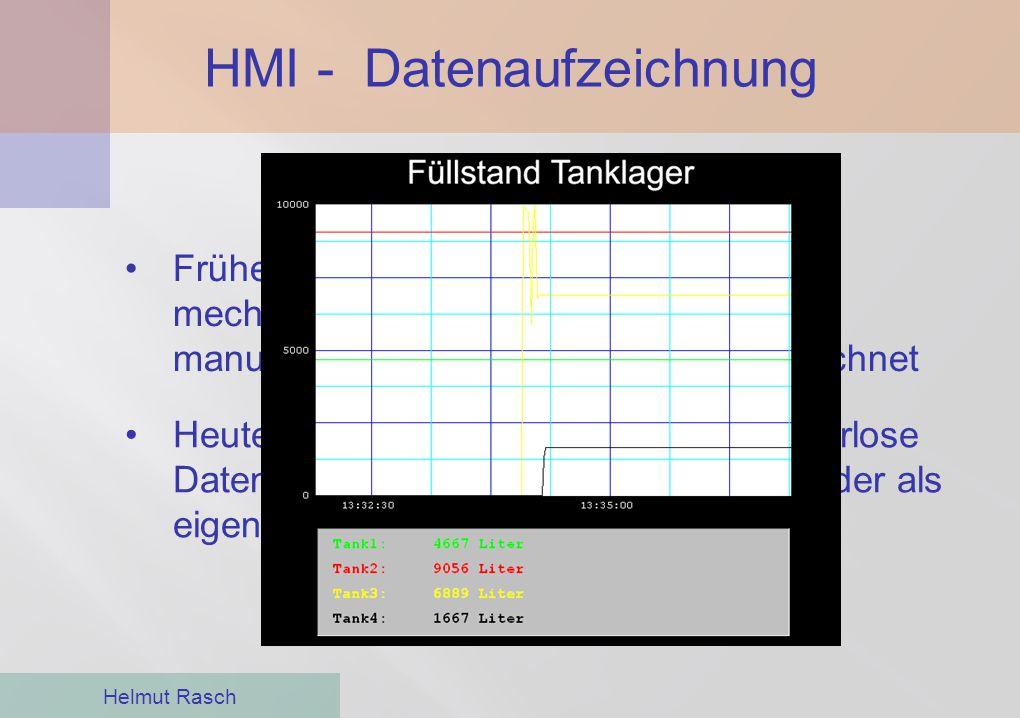 HMI - Datenaufzeichnung