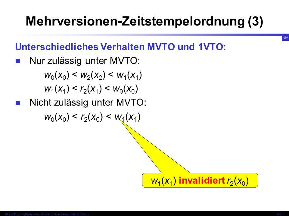 Mehrversionen-Zeitstempelordnung (3)