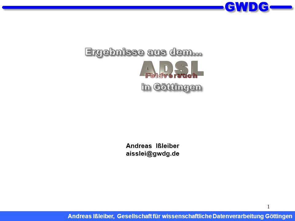 Andreas Ißleiber aisslei@gwdg.de
