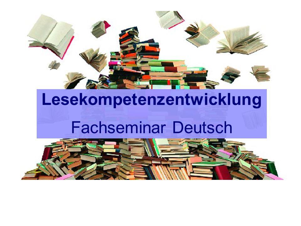Lesekompetenzentwicklung