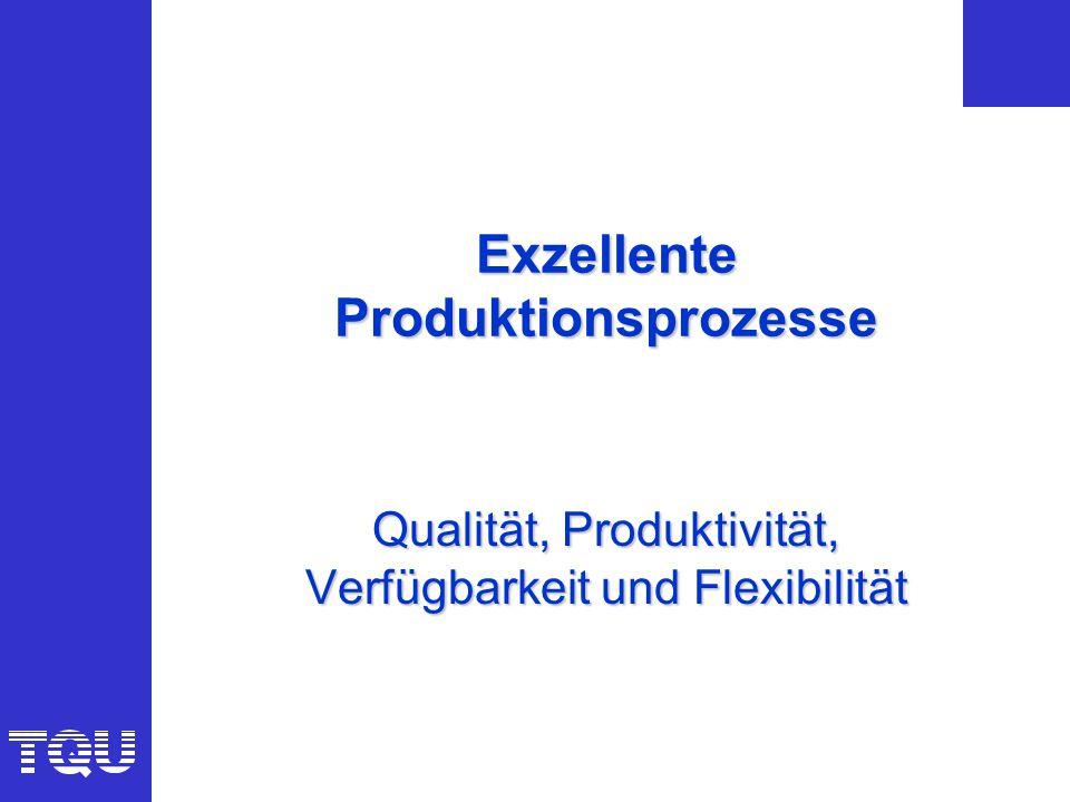 Exzellente Produktionsprozesse