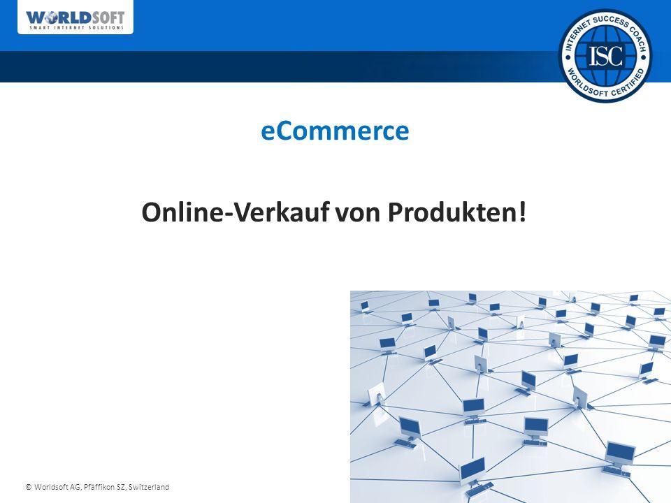 Online-Verkauf von Produkten!