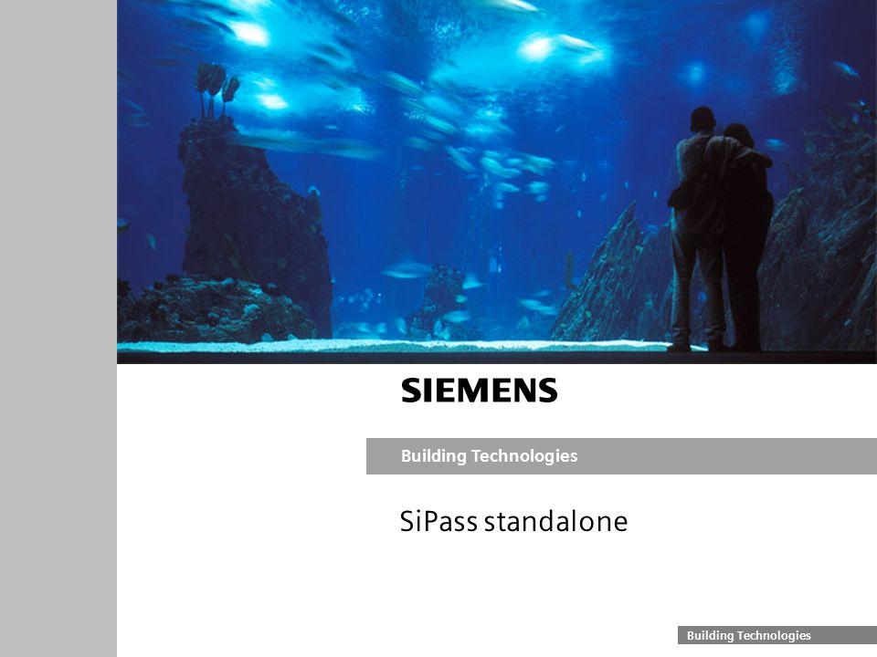 SiPass standalone