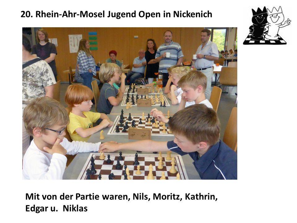 20. Rhein-Ahr-Mosel Jugend Open in Nickenich