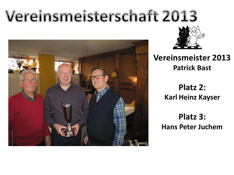 Vereinsmeisterschaft 2013