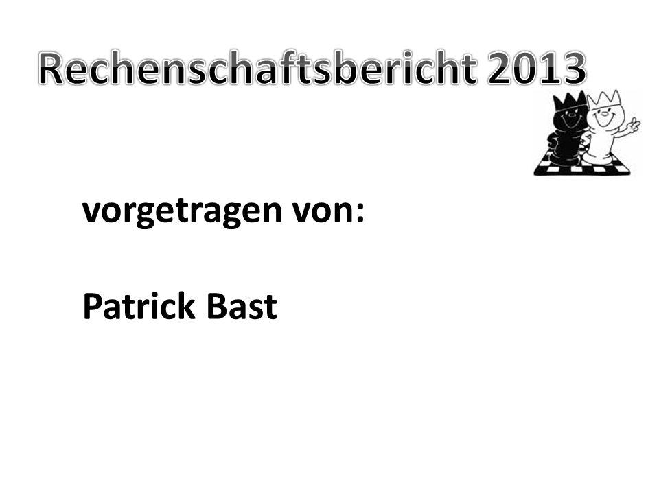 Rechenschaftsbericht 2013