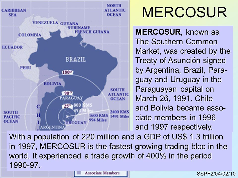 MERCOSUR MERCOSUR, known as The Southern Common